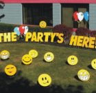 Yard Card – The Party's Here